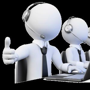 Imagen de servicio de atención al cliente del software de taller