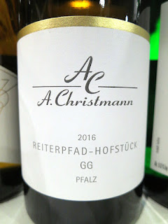 A. Christmann Reiterpfad-Hofstuck GG Riesling 2016 (92 pts)