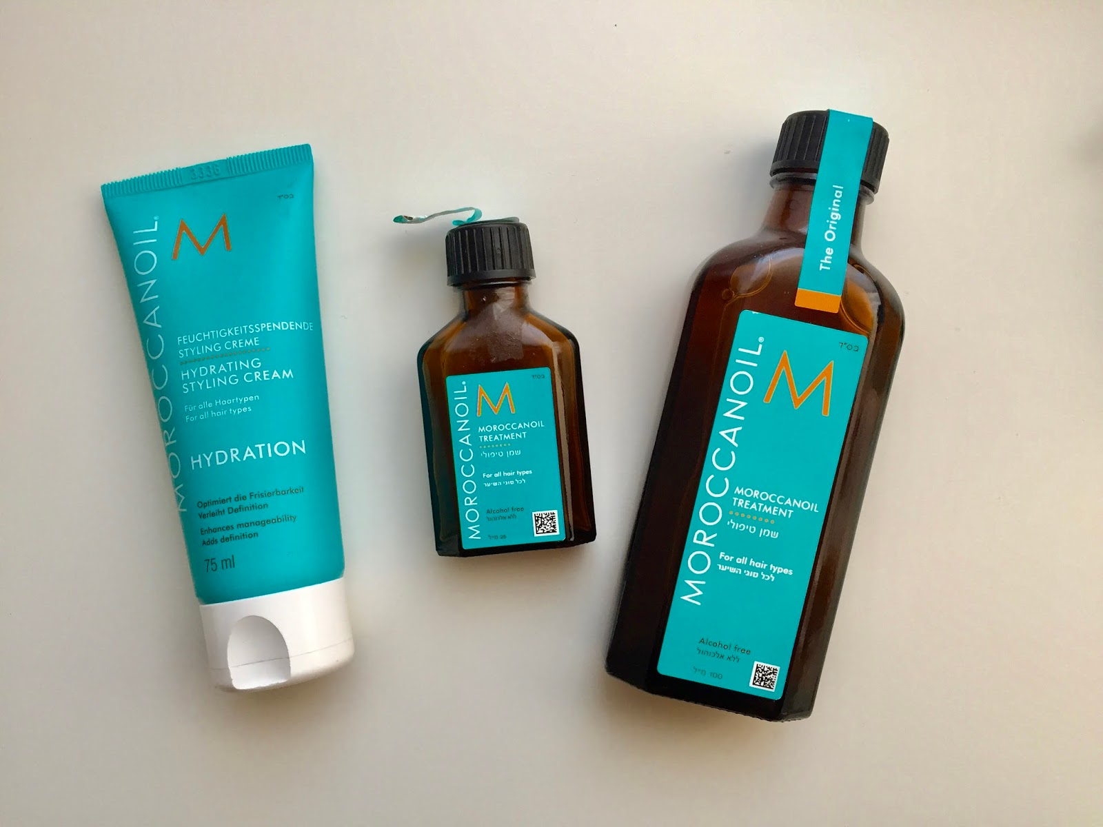 moroccanoil Hydrating styling cream a treatment original
