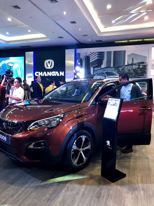 Changan fue parte del Autoshow 2018 en Guayaquil