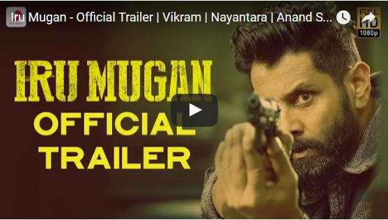 "Vikram's New ""Irumugam"" Trailer launched Along Even Audio Launch"