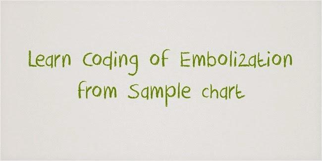 Portal Vein Embolization coding sample report