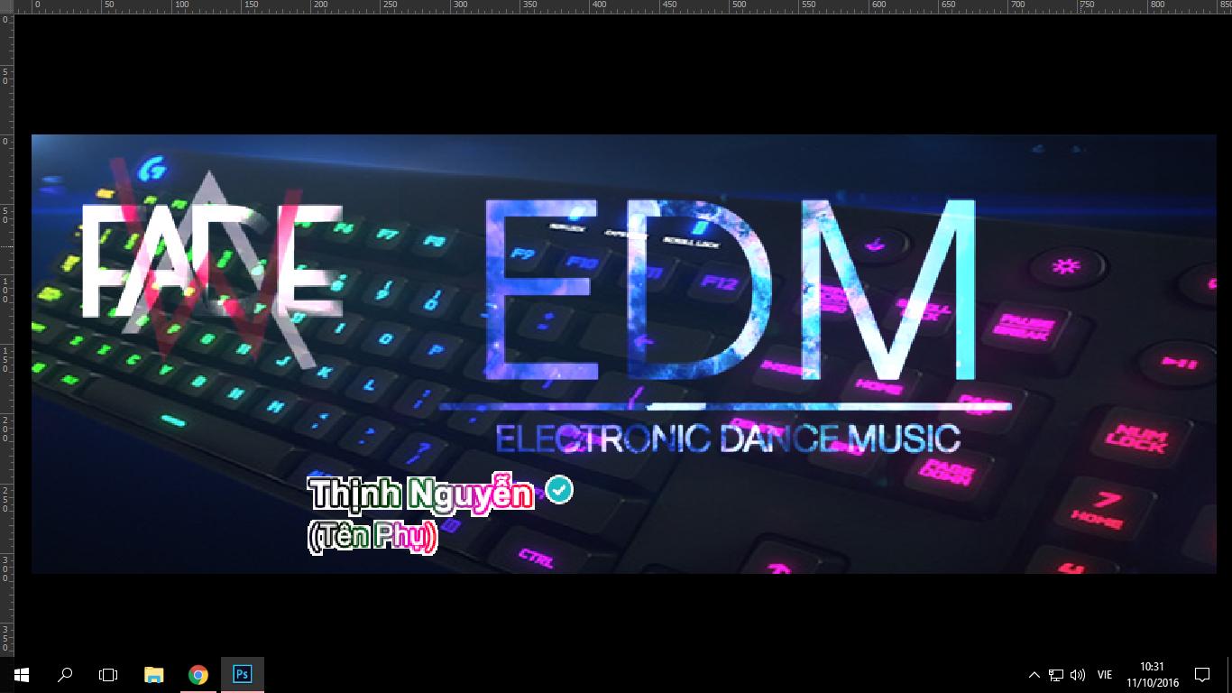 Ảnh bìa Facebook: EDM.