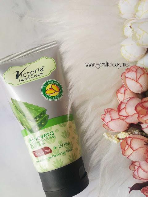 Victoria Hand Cream Aloe Vera
