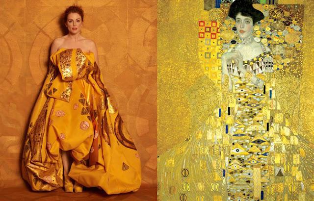 Adele Bloch-Bauer I, 1907 por Gustav Klimt