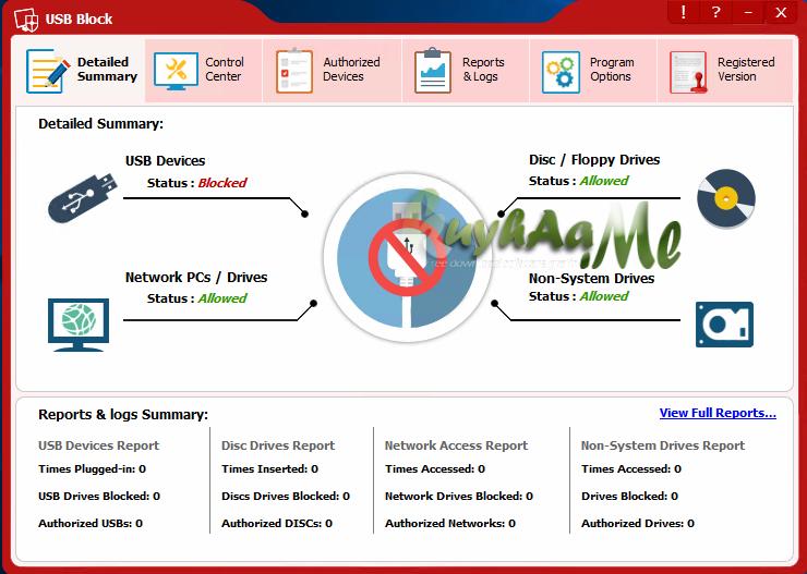 Newsoftwares USB Block kuyhaa