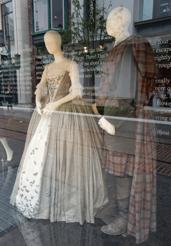 Original Outlander wedding costumes
