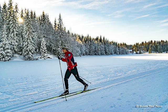 Esquí de Fondo en Oslo por El Guisante Verde Project