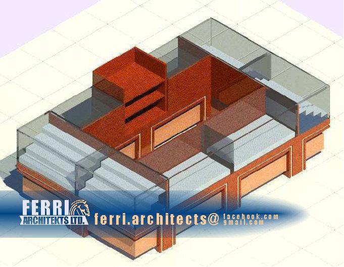 ferri architects: FREESTANDING KIOSK GROUP F1 - Ferri Architects