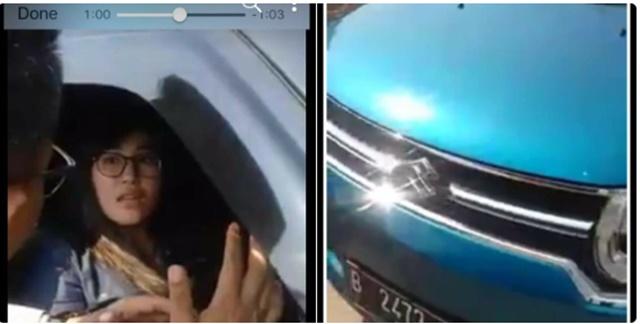 Ini Identitas Wanita yang Ludahi Rombongan Presiden Jokowi