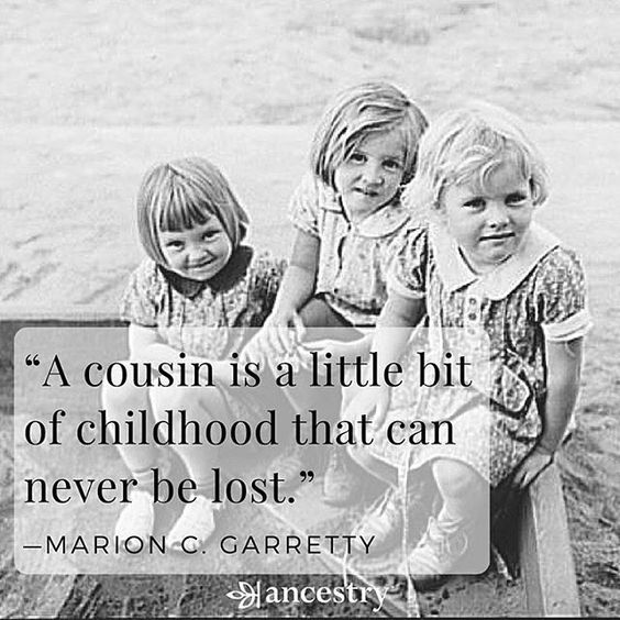 beautiful cousin quotes