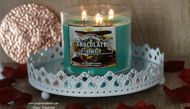avis Chocolate Pistachio de Bath & Body Works, blog bougie, blog parfum, blog beauté