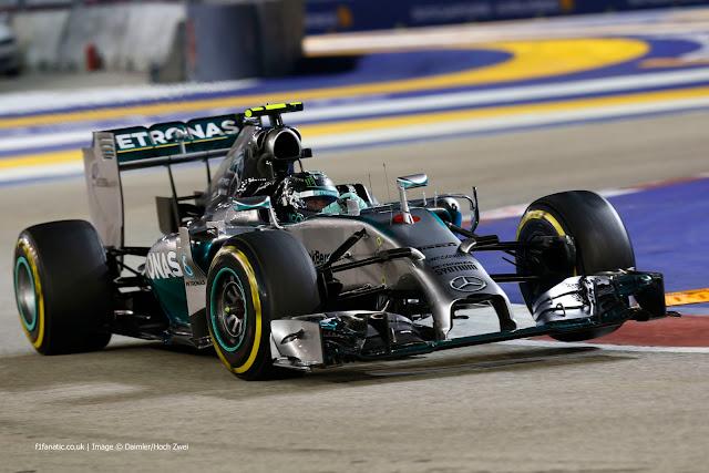 Tak Ingin Pikirkan Poin, Rosberg Ingin Fokus di Singapura