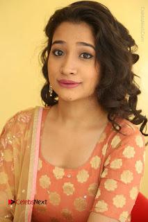 Telugu Actress Santoshi Sharma Latest Stills in Salwar Kameez at HBD Movie Teaser Launch  0058.JPG