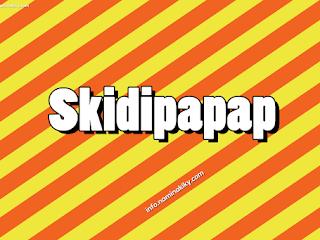 Arti kata Skidipapap yang Kini Sedang Populer