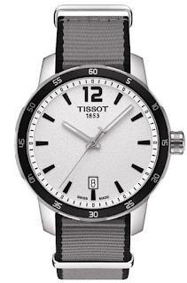 TISSOT Quickster Nato Strap T095.410.17.037.00