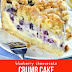 Sweet & Delicious Blueberry Cheesecake Crumb Cake