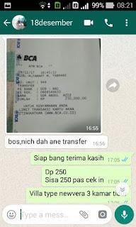 Dokumen Bukti Transaksi Pelanggan