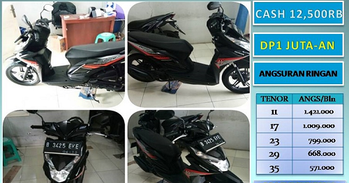 Jual Cash Kredit Honda Beat Fi Second 2017
