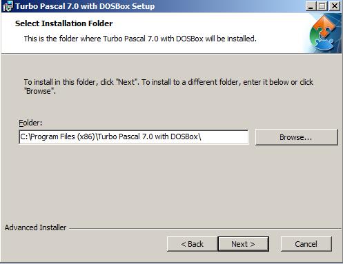 Tải Turbo Pascal 7.0 và hướng dẫn cài đặt Turbo Pascal trên máy tính b