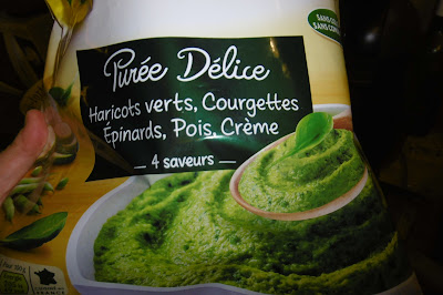 frozen green puree