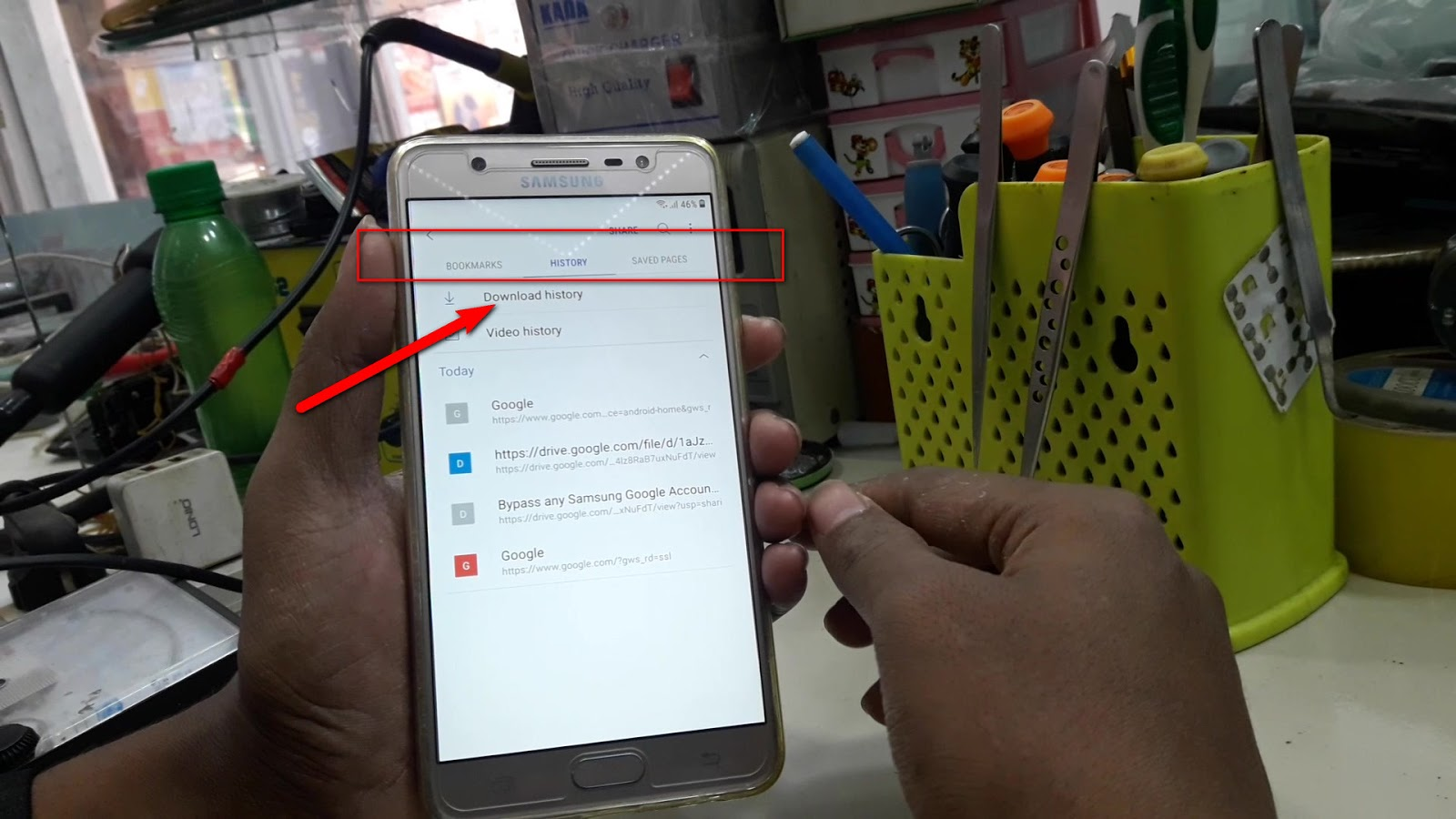 Samsung Android Nougat Google Account Bypass (FRP Lock