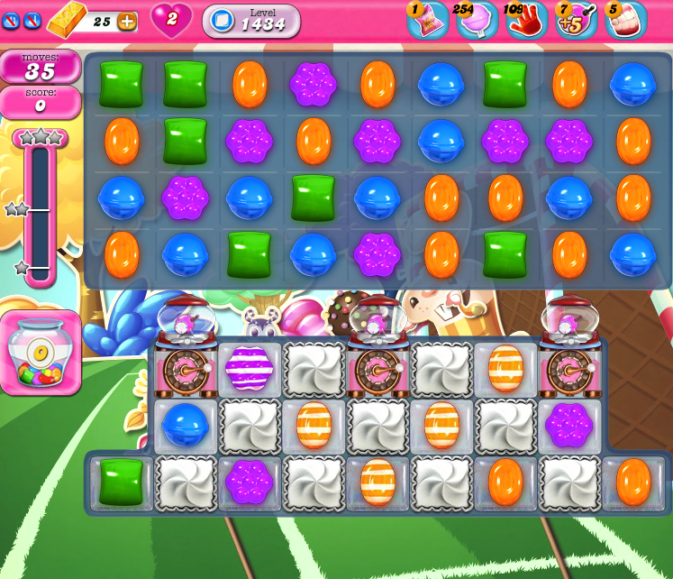 Candy Crush Saga 1434
