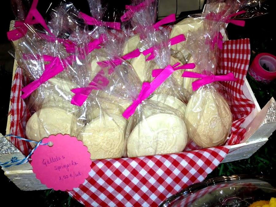 galletas y cookies en horneando entre telas