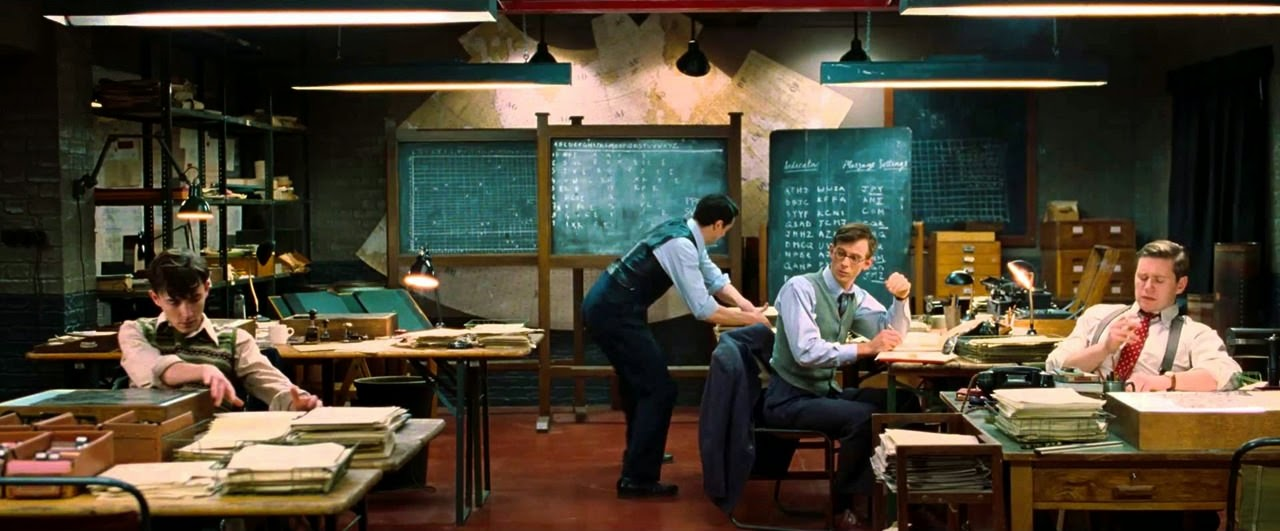 the imitation game-matthew beard-matthew goode-james northcote-allen leech