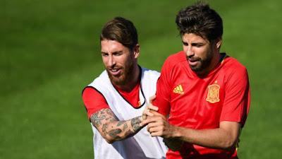 Ramos responde el polémico Tweet de Piqué. ¡No te lo pierdas!