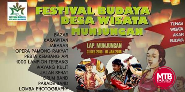 Festival Budaya Desa Wisata Munjungan