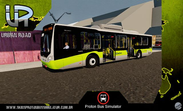 Skin Proton Bus Simulator - Caio Millenium IV BYD BH Trans MOVE