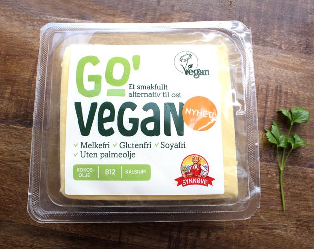 Go' Vegan Ost Blokk Nyhet Synnøve Finden