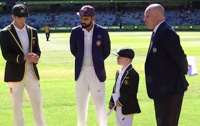 When a 7-year-old child took over captaincy, Virat Kohli gave special gift.