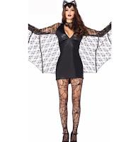 halloween vampire bat costume