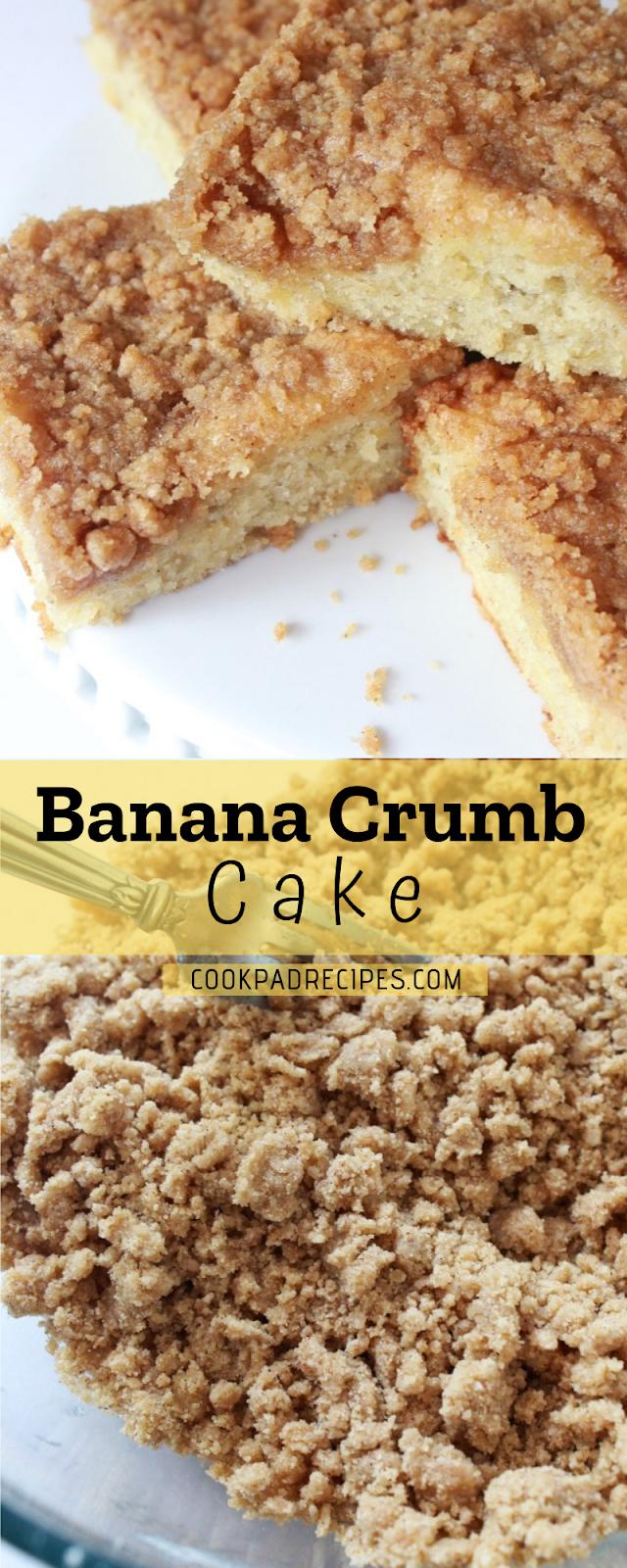 Banana Crumb Cake