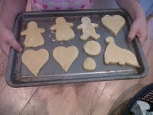 Easy shortbread biscuits for children