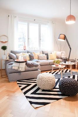 claves para decorar tu salón en invierno