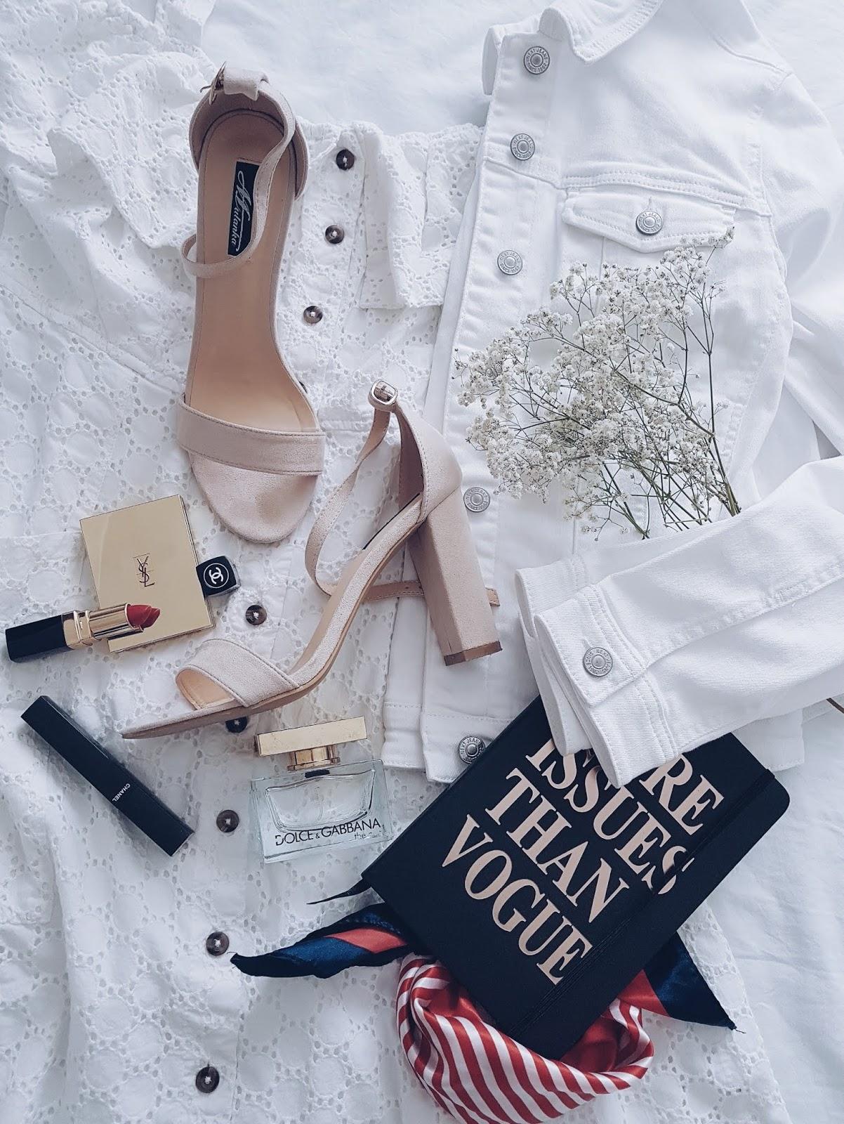 Summer white total look czyli biała hiszpanka