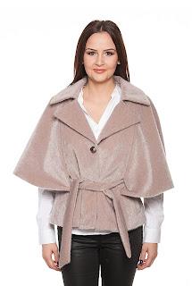 Jacheta scurta din blana – Ama Fashion