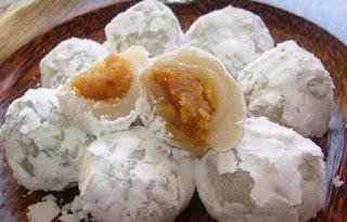 Kue Moci Kue Tradisional Jajanan Pasar Khas Indonesia