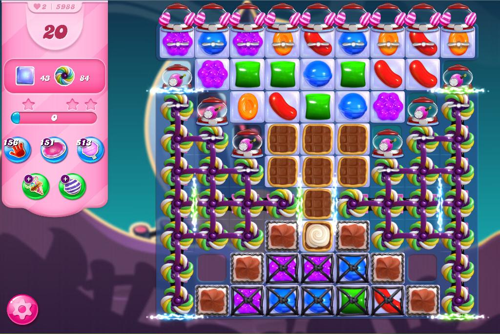Candy Crush Saga level 5988