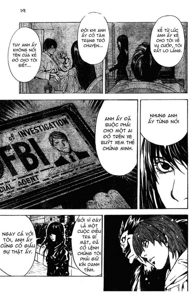 Death Note chapter 012 trang 20