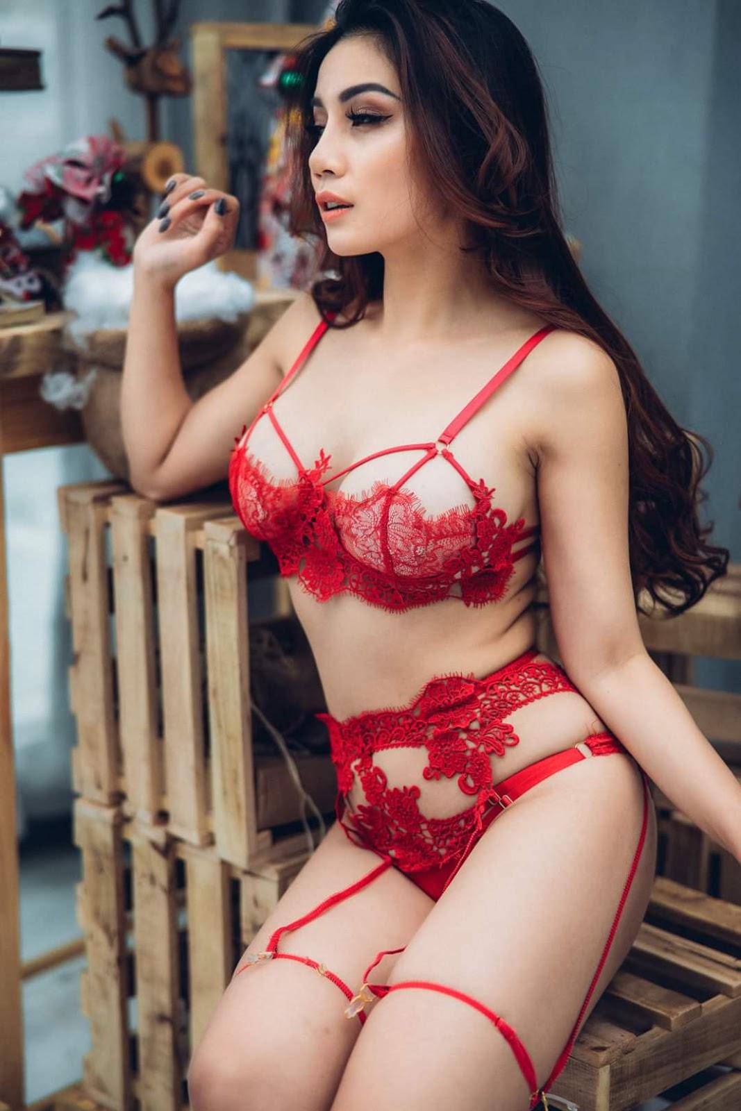 Ren đỏ chứng tỏ rất xinh @BaoBua: Việt Nam Sexy Girl