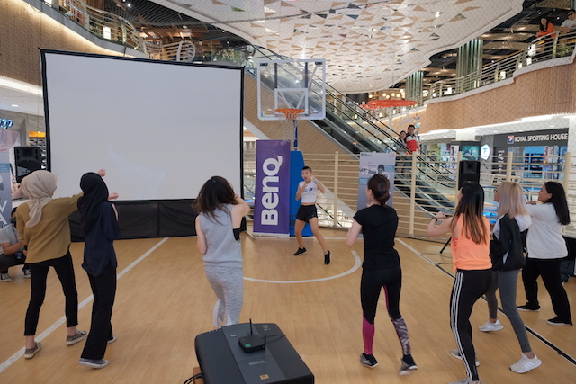#goodsweat will present a series of free-for-all fitness classes at Lot 10's Basketball Court on Level 3