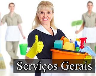 Auxiliar de serviços gerais | Divulgando Vagas