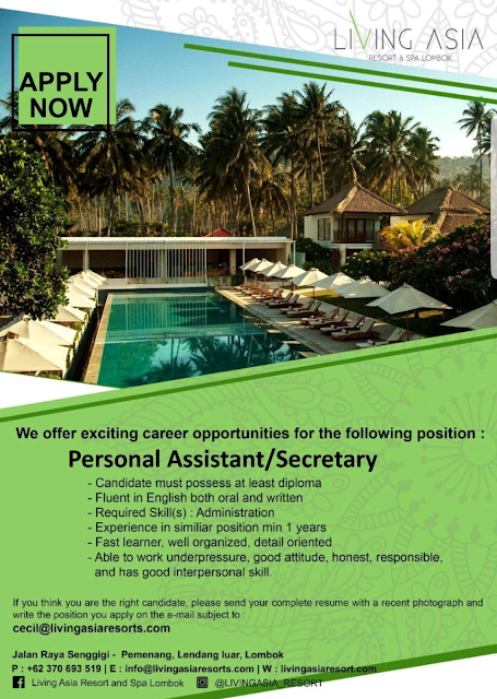 Personal Assistant, Secretary