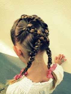 indian princess braids for the girls
