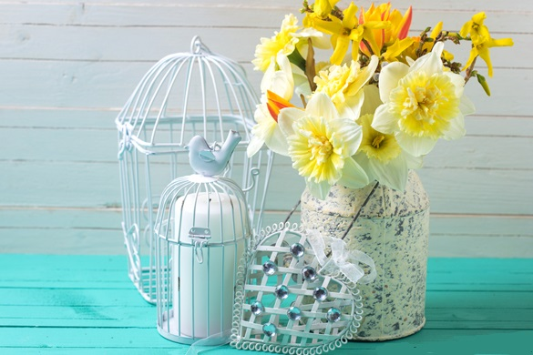 Easter Flowers - HD Images Photos with Quotes