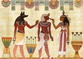 An Egyptian encryption.
